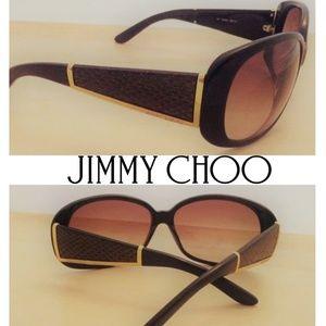 FLASH SALE!! 😎 Jimmy Choo Snakeskin Sunglasses